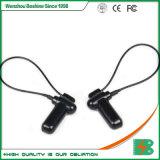 Ropa de Etiqueta de seguridad magnéticos magnéticos Detacher EAS prendas de vestir de etiqueta de seguridad con cordón