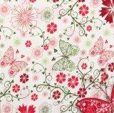 Hot Pink Color personnaliser imprimés sacs de papier personnalisé pour les vêtements