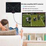 최신 판매 편평한 HD 디지털 실내 증폭된 텔레비젼 안테나 - 안테나 50 마일 범위 텔레비젼 ISDB ATSC DVB-T DVB-T2