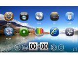Collegamento dello specchio di sostegno del iPod del BT 3G RDS TV di lettore DVD