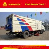 Sinotruk HOWO 4X2の道掃除人のトラックのクリーニングの通り