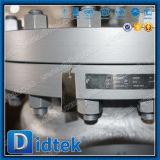 Klep Uit gegoten staal van de Controle van de Schommeling van Didtek de Van een flens voorzien