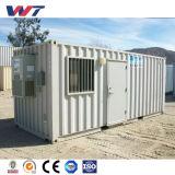 Дом контейнера пакгауза/автопарка/кофеего комнаты контейнера Prefab зернокомбайна плоский подвижной с Ce и ISO9001/Poutry самонаводят