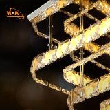 Lampadario a bracci a cristallo all'ingrosso decorativo di vendita caldo della sala da pranzo