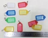 Mode clé en plastique Tags