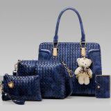 여자 핸드백은 작은 어깨에 매는 가방 4개 피스 부대 PU 가죽 운반물 Sy8564 놓았다