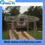 Тип ферменная конструкция Spigot ферменной конструкции этапа алюминиевый изогнутая ферменной конструкцией