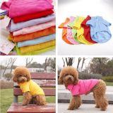 Ropa caliente del perro, fuente de la ropa del animal doméstico de la manera, camisa de polo del perro