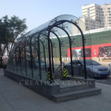 Vetro Tempered piegato per la parete divisoria/vetro di vetro della costruzione