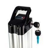tipo elettrico dei pesci d'argento del pacchetto della batteria di litio della bici 36V12ah con le celle del LG per il giro di velocità