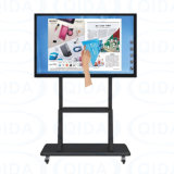 42~84 pollici della strumentazione di vetro Tempered di scheda educativa Whiteboard interattivo del IP