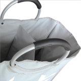 Doppio cestino di lavaggio di Oxford del sacchetto ecologico della lavanderia