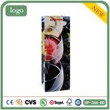 ワイン・ボトルのショッピングギフトのワインのアルコール飲料の上塗を施してあるアートペーパー袋