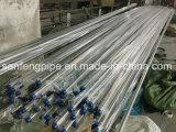 Soldado de la aplicación sanitaria 304 tubos de acero inoxidable 316L/metro