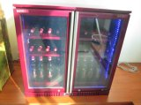 Réfrigérateur chaud de barre de dos de porte de triple de vente/réfrigérateur de bière