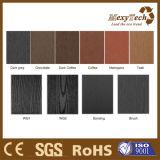 Várias cores compostas impermeável pavimentos exteriores da engenharia de madeira