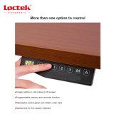 Loctek Et201hの持ち上がることは立場の高さ調節可能な電気二重モーターH形さしせまった表フレームを坐らせる
