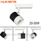Luz 25W de la pista de la alta calidad LED del almacén del proyector de 3 alambres