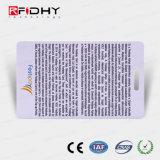 La perforación MIFARE 4K (R) billete de Metro de papel de RFID Smart Card