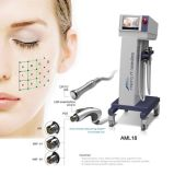 Professional Microneedle RF fracionária de máquina de aperto da pele com pele Cabeça Criopreservação