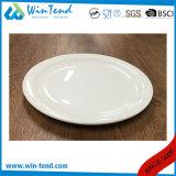 卸し売り白い磁器のビュッフェの平らな版の皿