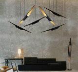 Verlichting van de Vorm van het Bamboe van de Lamp van de Tegenhanger van de hete Moderne LEIDENE van de Verkoop de Schuine Buis van het Aluminium