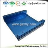 Nouveau design aluminium extrudé pour dissipateur thermique de l'équipement audio de voiture du radiateur avec la norme ISO9001