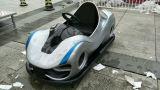 L'automobile di progettazione dell'adolescente adulto per la strumentazione di guida della sosta di Amusment