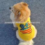 Haustier-Hundesommer-Kleidung, Hündchen-T-Shirt mit der Tatze
