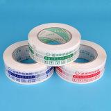 Base de agua cristalina de una sola cara adhesivo acrílico transparente BOPP cartón cinta de embalaje sellado