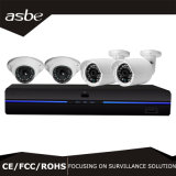 Sistema das câmaras de segurança do CCTV de HD 1080P 4chs com jogo de DVR