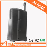 """8"""" 1200W Alto-falantes amplificados de gama total de 2 Vias do Sistema de colunas portáteis de PA Conjunto Combinado com o descanso/ Luz /Microfone/EQ/USB/Bluetooth"""