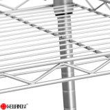 4 уровней Siliver домашних хозяйств с покрытием 50кг DIY регулируемый металлических стеллажей для хранения 750*350*1600