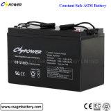 batteria di 12V 80ah, batteria al piombo sigillata (AGM)
