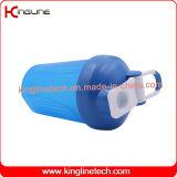 [400مل] بلاستيكيّة بروتين رجّاجة زجاجة مع خلّاط خلّاط كرة ومقبض ([كل-7011د])