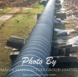 Bouclier de protection de Pipeline Rockguard Rock Mesh