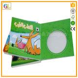 Impression élevée de livre de panneau d'enfants de Qaulity (OEM-GL008)