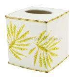 熱帯やしステッカーのアクセサリのための陶磁器の浴室または浴室の付属品はセットした