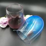 Glace en plastique promotionnelle de Martini de cuvette de l'eau de gobelet de Lwine