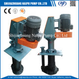 고무 수직 산성 슬러리 펌프 (100RV-SPR)