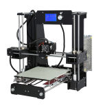 Grootte 220X220X250mm van het Af:drukken van de hoge Precisie A6 Printer van de Gloeidraad van Anet 3D