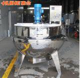 Caldera de la chaqueta de China con el mezclador (que inclina el tipo)