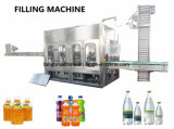 2017 La nouvelle technologie bouteille Pet Soft Soda capsuleuse de remplissage de la rondelle de boire de l'emballage de la machinerie