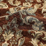Напряжение питания на заводе жаккард Chenille ткани для дивана и мебели