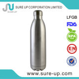 Acier inoxydable bouteille d'eau de course de vide de l'eau de 750 ml