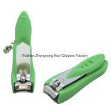 Kleurrijke Plastic Dekking met Clipper van de Spijker van de Nagelvijl Midden (608S-3)
