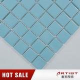 Neue Art-hellblaues keramisches Mosaik für Fußboden
