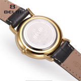 Van Bedrijfs belbi het Neutrale van de Mannen en van de Vrouwen van het Horloge Horloge van het Leer van de Manier Toevallige Eenvoudige