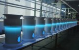 Purificador ULTRAVIOLETA del aire de la esterilización HEPA de la pantalla táctil