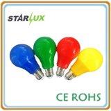 Лампа светодиодная лампа A60 цветной свет лампы
